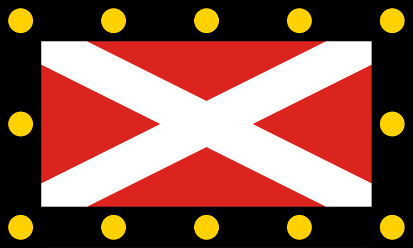 Bandera Hampton Poyle, Oxfordshire