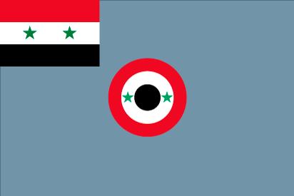 Bandera Fuerzas Aereas Sirias