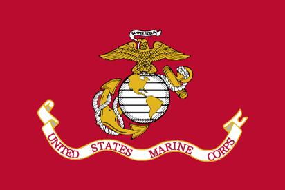 Bandera Marines EEUU