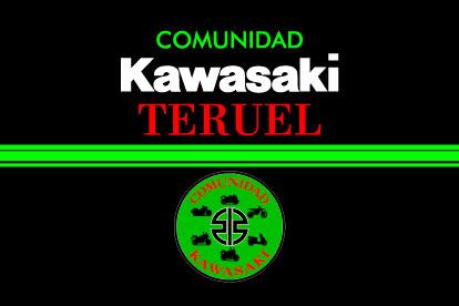 Bandera Comunidad Kawasaki Teruel