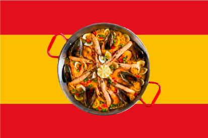 Bandera Paella
