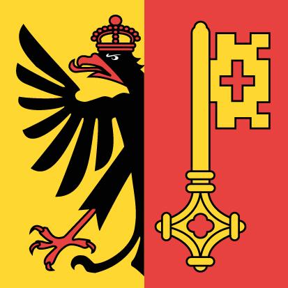 Bandera Cantón de Ginebra