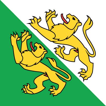 Bandera Cantón de Turgovia