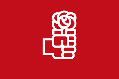 Bandera PSOE logo