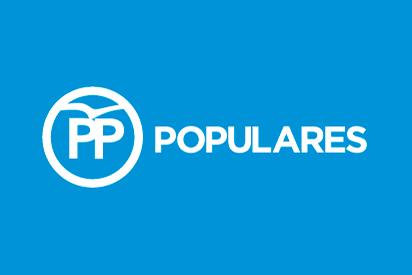 Bandera PP azul