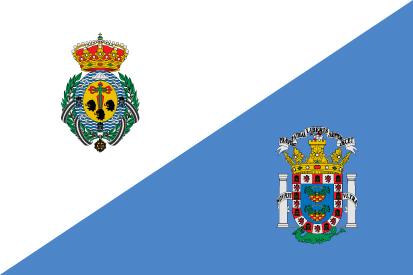 Bandera Santa Cruz de Tenerife y Melilla