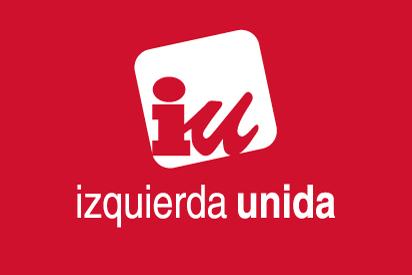Bandera IU roja