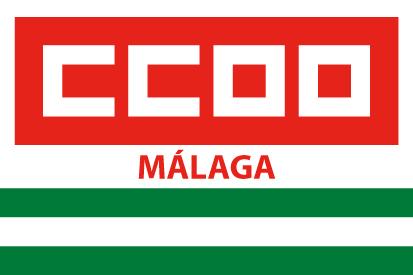 Bandera CCOO Málaga