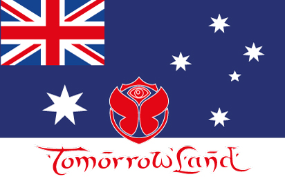 Bandera TomorrowLand Australia