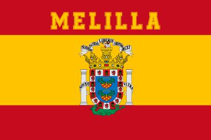 Bandera España Melilla