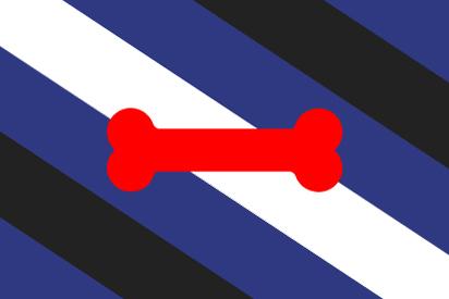 Bandera Puppy pride bone