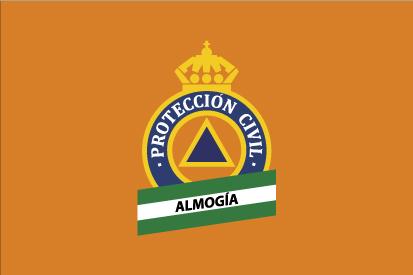 Bandera Protección Civil Almogía