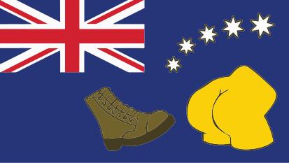 Bandera Australia Simpsons