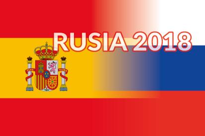 Bandera Mundial 2018 España