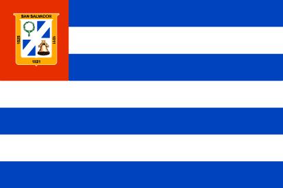 Bandera Departamento de San Salvador