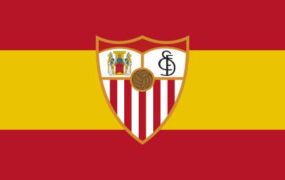 Bandera España Sevilla personalizada