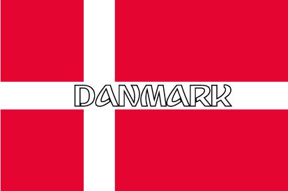 Bandera Dinamarca nombre