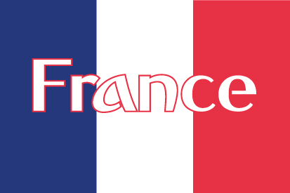 Drapeau Nom de la France