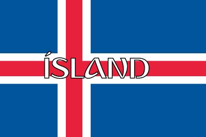 Bandera Islandia nombre