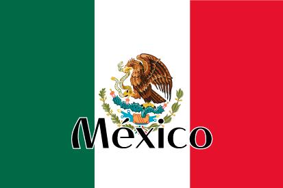 Bandera México nombre