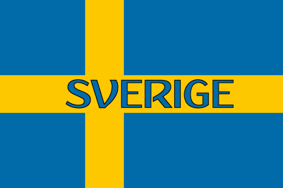 Bandera Suecia nombre