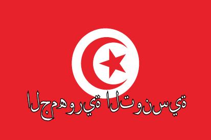 Bandera Túnez nombre