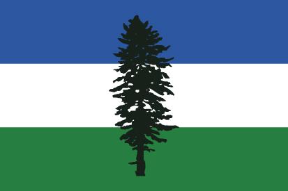 Bandera Cascadia