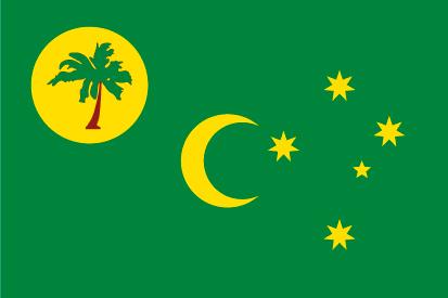 Bandera Islas Cocos