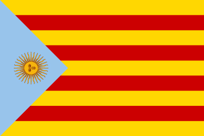 Bandera Argentina Cataluña