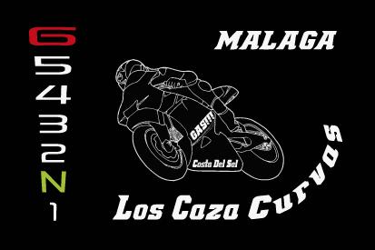 Bandera Los Cazacurvas Málaga