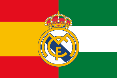 Bandera España Andalucía Madrid