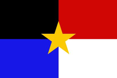 Bandera La Mancha Estrellada