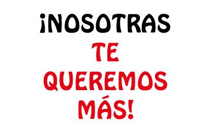 Bandera Despedida de soltera Nosotras te queremos más
