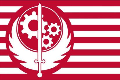 Drapeaux Brotherhood of Steel