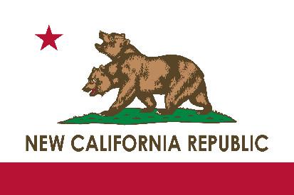 Bandera New California Republic