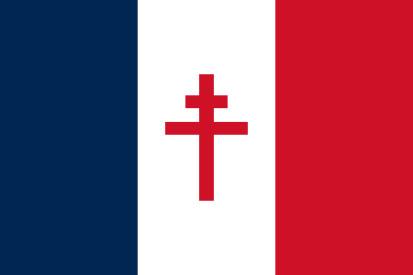 Bandera Francia Libre (1940-1944)