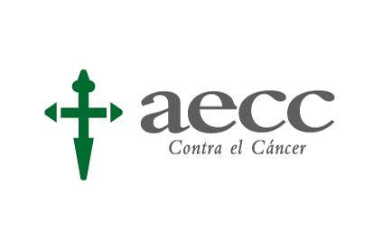 Bandera AECC contra el Cáncer
