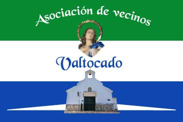 Bandera Asociación de vecinos Valtocado
