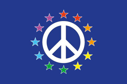 Bandera Europa Gay and Peace