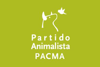 Bandera PACMA verde