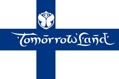 Bandera TomorrowLand Finlandia