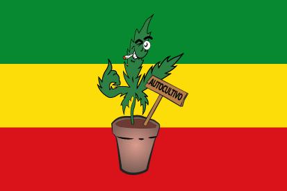 Bandera Rasta autocultivo