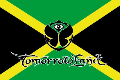 Bandera TomorrowLand Jamaica