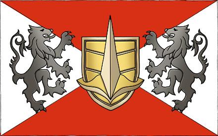 Bandera Ejercito Revolucionario Gallian