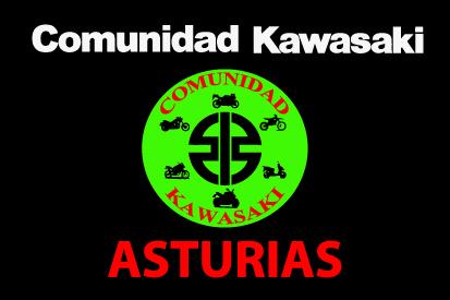 Bandera Kawasaki Asturias