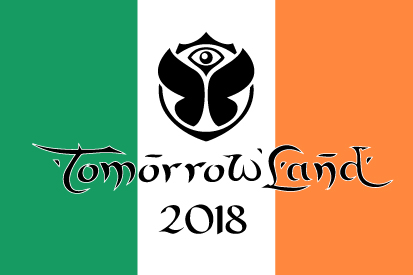 Bandera TomorrowLand Irlanda 2018