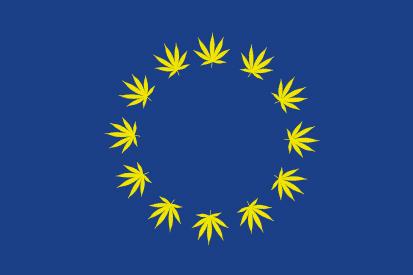 Bandera Europa Cannabis