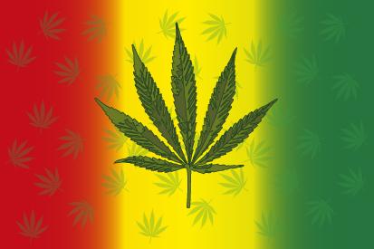 Bandera Marihuana