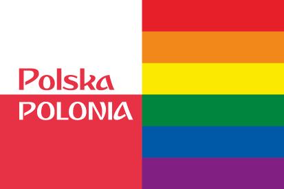 Bandera Polonia LGTB