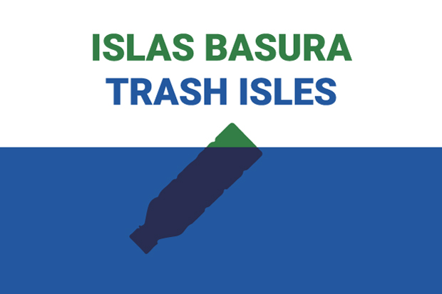 Bandera Isla basura 2